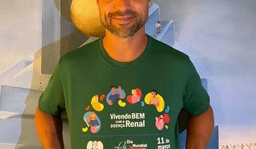 Diego Ribas da Cunha apoia a campanha do Dia Mundial do Rim