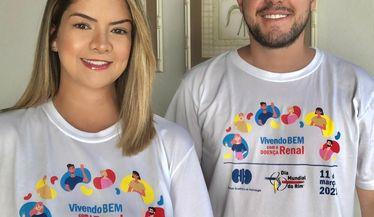 Maria Cecília e Rodolfo apoiam a campanha do Dia Mundial do Rim