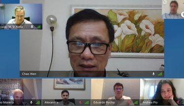 SBN se reúne com Prof. Chao Wen para tratar sobre a Telemedicina na prática nefrológica