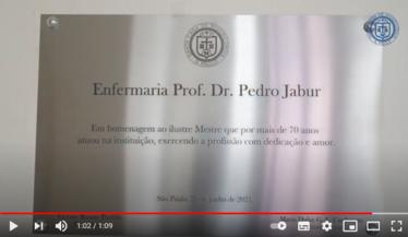 Homenagem ao Professor Doutor Pedro Jabur