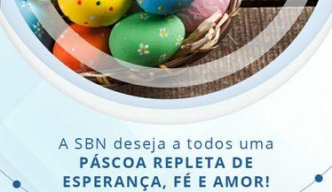 A SBN deseja uma páscoa repleta de fé, esperança e amor!
