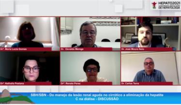 SBN representada por seu presidente Dr. Osvaldo Merege e por seu vice-presidente da região Nordeste participam do Congresso Brasileiro de Hepatologia