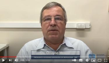 Dr. Osvaldo Merege Vieira Neto tem um recado pra você sobre o Curso de Atualização da SBN